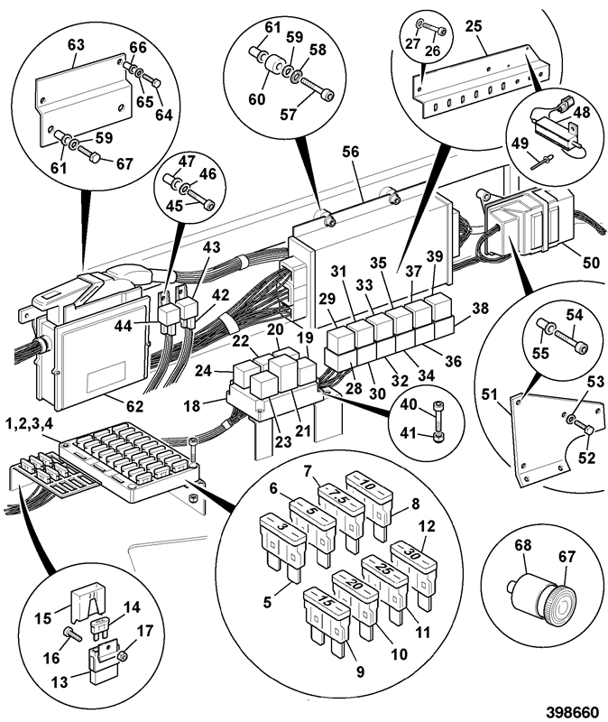 2135abs Spare Parts