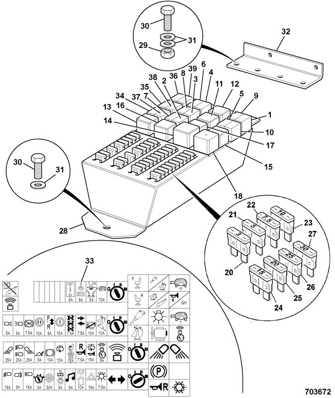 3cx 4wd Turbo Precision Control Spare Parts