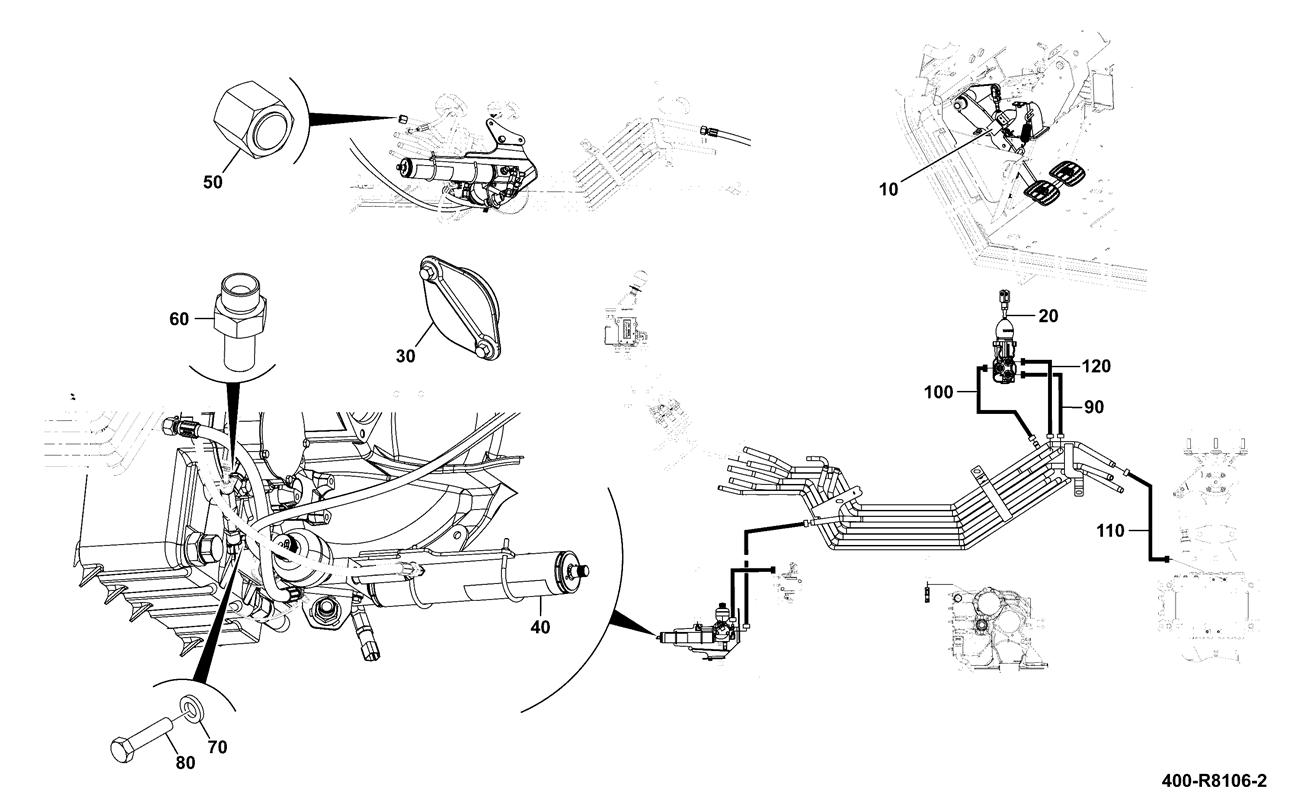 Jcb 531 70 Wiring Schematics Simple Diagram Options 1400b Schematic Library Bobcat S220 Brake System Installation Assemblies Power