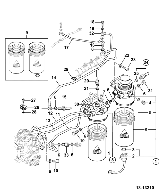 Dt466 Fuel Filter Housing Parts Diagrams Further 2006 Jeep Mander