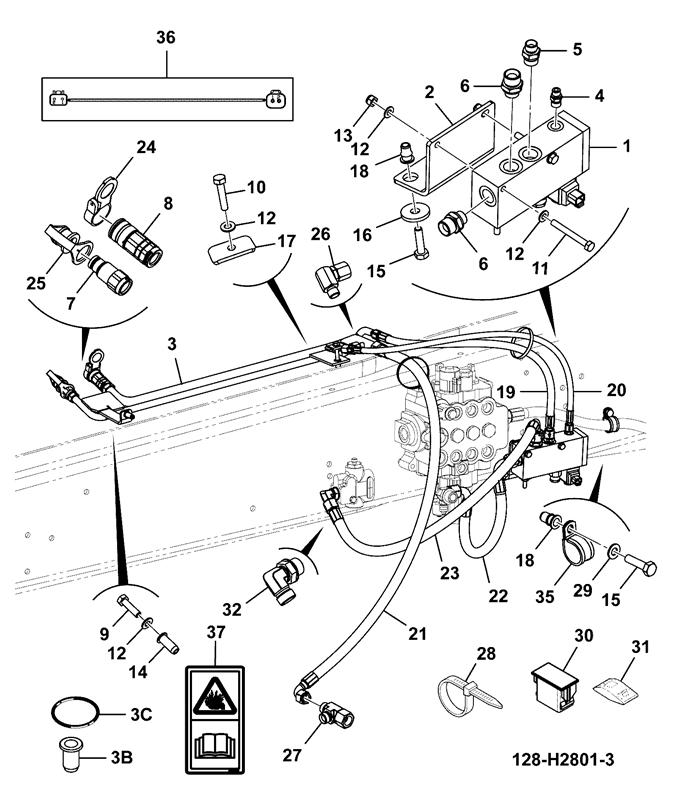 3cx 92hp 14ft Excavator Tier 2 4wd Manual Spare Parts