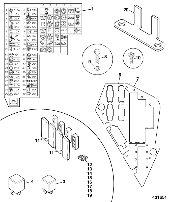 531-70 Spare Parts on